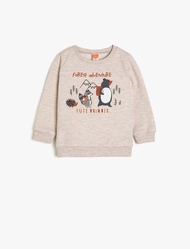Koton Kids Sweatshirt Ekru
